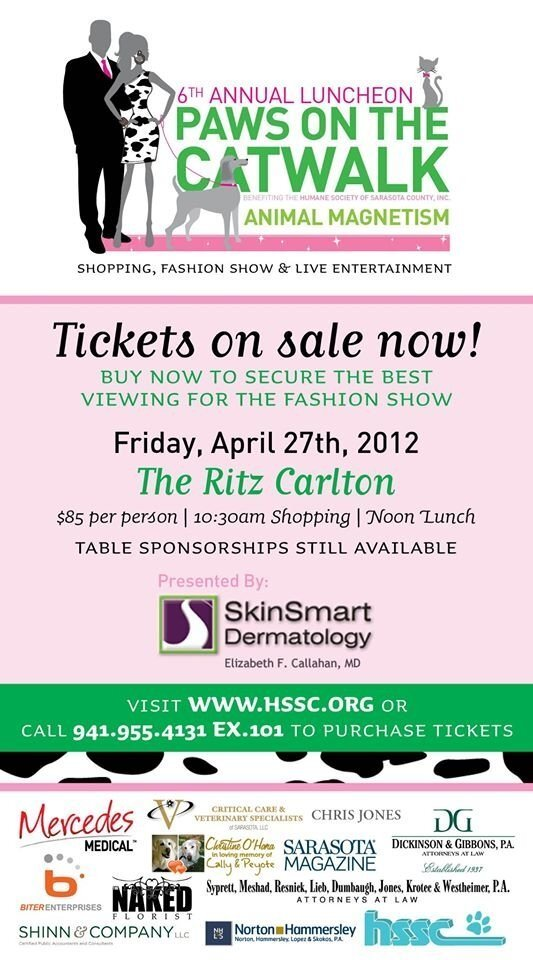 Paws On The Catwalk Fundraiser