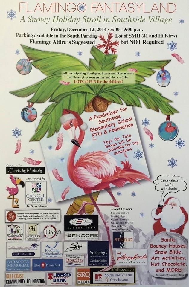 Flamingo Fantasyland At Southside Elementary